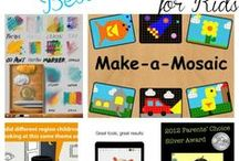 Great Apps for Kids / Apps that stand out for our kids to use, including those we will have on our iPads in the Children's Room.  Not always free.