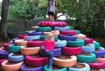 Go Out and Play! / Backyard play spaces that rock!