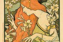 Art Motives - Art Nouveau Girls / Woman of Art Nouveau