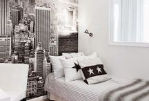 Bedroom and decor / Fun ways to decorate / by Kaleigh Power
