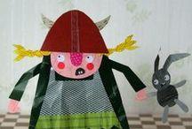 CHILDREN'S ILLUSTRATIONS / by Leslie Boroff