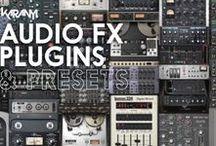 Audio - Plugin (FX & Presets) / Compressor / Limiter, EQ, Reverb & Delay, Modulation & Special Processing + Presets