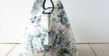 Handmade Foldable Shopping Bags / UK Handmade Foldable Shopping Bags, all created in by Rita at Selby Soft Furnishings