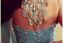 Sari & Blouse designs