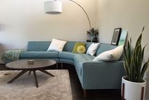 Custom sofas and sectionals / Looking for a custom sofa, sectiona or chair? Come visit us. Choose the style, size and fabric and have it made in just a few weeks!