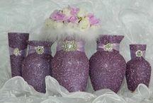 Colour Me // Lilac / Lilac inspiration for weddings.