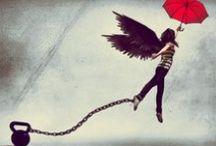 Learning to fly / Since I was young this has been my dream: flying on my own. If I could ask for a wish it would be this without any doubt.........and I would take you for a ride  ;-)                          Desde pequeña siempre quise volar. Por mis propios medios. Es una constante que se ha mantenido en mi vida desde que tengo uso de razón. Si ahora pudiera pedir un deseo sería ese sin dudarlo. Y te llevaría a dar un vuelta.......