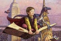 BIBLIOTECAS Y LIBROS EN LA LITERATURA Y EL CINE INFANTIL Y JUVENIL  / Recorrido por la imagen de las bibliotecas y los bibliotecarios en la literatura y el cine infantil y juvenil