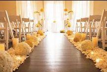Colour Me // Yellow / Brilliant summer wedding colour!