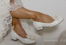 Beautiful Bridal Shoes  / Gorgeous vintage, retro, and glamour-inspired bridal shoes to wear on your big day.