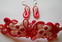 Bijuterii din snur soutache / Cele mai frumoase bijuterii se pot crea cu snurul soutache, acul, ata si cateva margelute