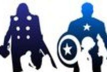Superhéroes / Según Stan Lee un superhéroe es un personaje de ficción cuyas características superan las del héroe clásico, generalmente con poderes sobrehumanos, y entroncado con la ciencia ficción.  Aquí encontrarás libros y películas para que descubras los poderes de todos los superhéroes.