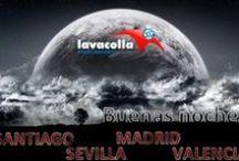 ANOCHECE EN APARCAMIENTO LAVACOLLA