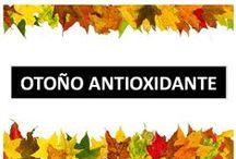 Otoño Antioxidante / Del otoño nos gusta todo: los colores del campo y del bosque,recoger nuevos tesoros del suelo, usar las botas de agua en los paseos, hacer excursiones, una mañana de setas, encender la chimenea y leer un buen libro, pisar el suelo lleno de hojas, comer frutos secos...