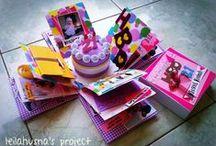 Scrap Project / Scrapframe, scrapbook, scrapbox, etc Handmade, DIY Project