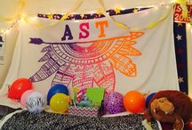 Beta Mu Banners! / Alpha Sigma Tau Beta Mu Chapter banners