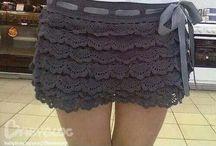 crochet: skirts / haken/breien