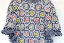 crochet: ponchos