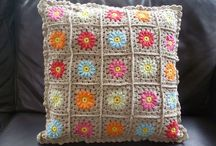 crochet: pillows and blankets
