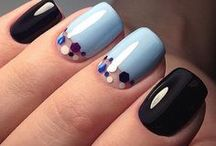 Fall & Winter Nail Designs / Fall nail designs, Winter nail designs
