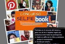 SELFIEBOOK: concurso veraniego / Hazte un selfie con un libro y dinos porqué lo recomiendas