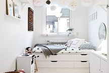 Small bedrooms - make the most of the space / Be creative and turn that small space into your serene place, the perfect small space for children, a great place for guests or perhaps solve some storage issues!