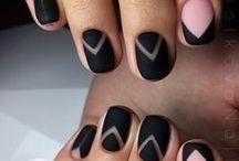 Dark Nails / Dark nails, Dark nail designs