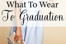 Graduation Day / What to wear to graduation? Graduation outfit ideas for your inspiration! What outfit do you want to recreate? Feel free to pin any outfit you like!
