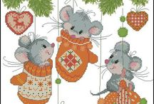 embroidery patterns: christmas