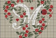 embroidery patterns: alphabet