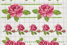 embroidery patterns: flowers
