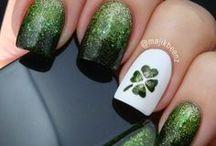St. Patrick's Day Nails / St. Patrick's Day Nails, Nail designs