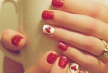 Valentine's Day Nails / Valentine's day nails, Nail designs