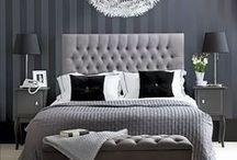 Makuuhuoneeet / Eri tyylisiä makuuhuoneita - ideoita sisustamiseen
