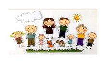 HERMANOS Y OTROS FAMILIARES / Los hermanos ocupan un lugar muy importante en la vida y en las relaciones de las personas; De esta manera, podemos ser el mayor, el mediano, el pequeño...; los hermanos son nuestros confidentes, amigos, enemigos.... ¡Qué aburrida sería la vida sin ellos!