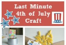 4th of July / 4th of July,  Patriotic Crafts, Yard Games, BBQ Ideas,  Family Summer Fun