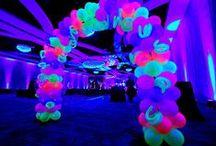 Festa baladinha neon