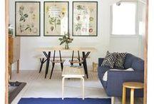 Scandinavian Design / Skandinaavisia huonekaluja, valaisimia, desing-tuotteita ym.