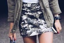 Military Style / Military style outfit ideas