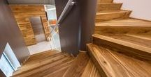 | Wooden Stairs | / Scale in Legno | Wooden stairs | Escaliers en bois | Лестница