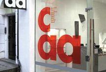 shop windows graphic design