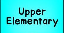Upper Elementary / This is a board is for reading and writing resources for the upper elementary grades: third grade, fourth grade, and fifth grade.