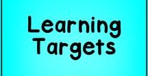 "TEKS I Can Statement Learning Targets / Get colorful ""I Can"" statements of the TEKS learning objectives in kid-friendly language to post for your learning targets."