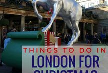 Christmas in London / Events, decorations, ideas and things to do for Christmas in London