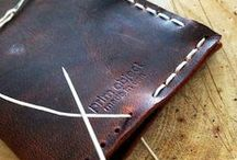 Leather Tutorials / Leather craft projects and inspiration