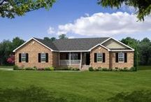 Ranch & Single Story Home Exteriors