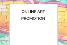 Online Art Promotion / Did you know that 66% of art sales are done online? Understanding the business of marketing and selling your art is half of the solution to turning your skill and talent into a full-time passion!