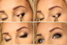 make-up and hair / leuke ideeen voor je haar en make-up.