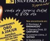 DONDE ESTAMOS? www.sivergold.es / En #SilverGold compro oro, puedes encontrar mas de 5000 joyas en oro de 1ª Ley, visita nuestra web y elige la tuya. También puedes visitarnos en nuestras tiendas, te recordamos donde nos encontramos para que puedas acudir a la que más cerca tengas. Barakaldo, C/ Rontegi nº 8 Sestao, C/ Lorenzo LLona º 2 Santurtzi C/Genaro Oraá nº 22 SILVERGOLD, SIEMPRE CERCA DE TI!!!!