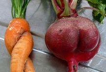 Ugly Veg & Wonky Veg / Embrace all the veg!